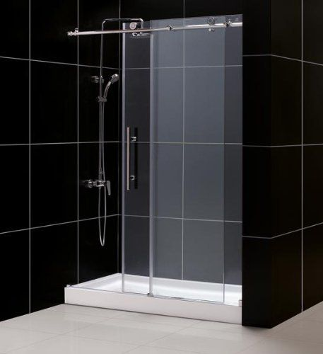 Dreamline Tub To Shower Kit Enigma X Shower Door 32 X 60 Amazon Shower Base By Dre Sliding Shower Door Frameless Sliding Shower Doors Frameless Shower Doors