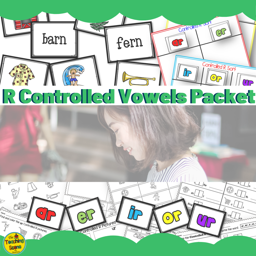 R Controlled Bossy R Vowels Packet Letters Pictures