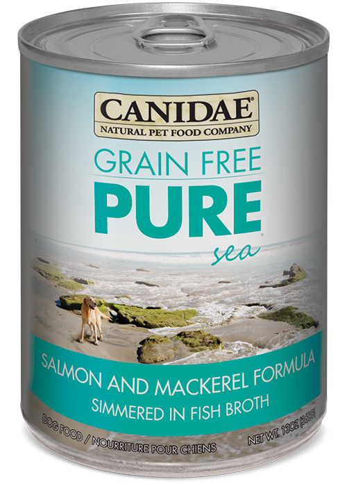 Canidae Grain Free Pure Sea Salmon And Mackerel Canned Dog