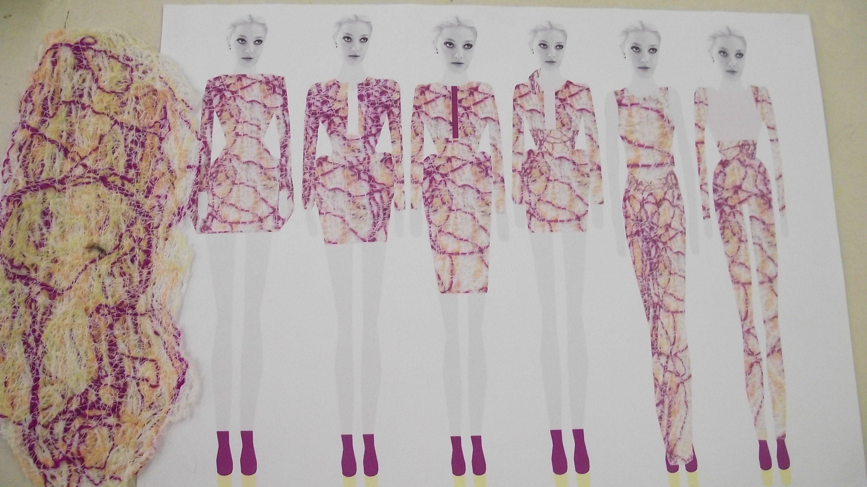 Pin by Mahn Art on Fashion Sketchbook | Textiles sketchbook