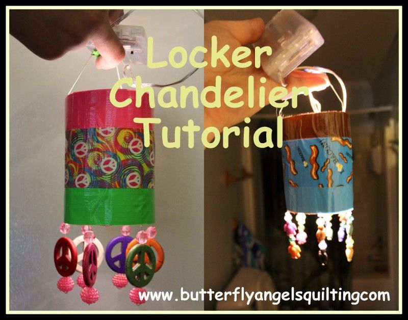 Locker chandelier tutorial my work pinterest locker chandelier locker chandelier tutorial aloadofball Image collections