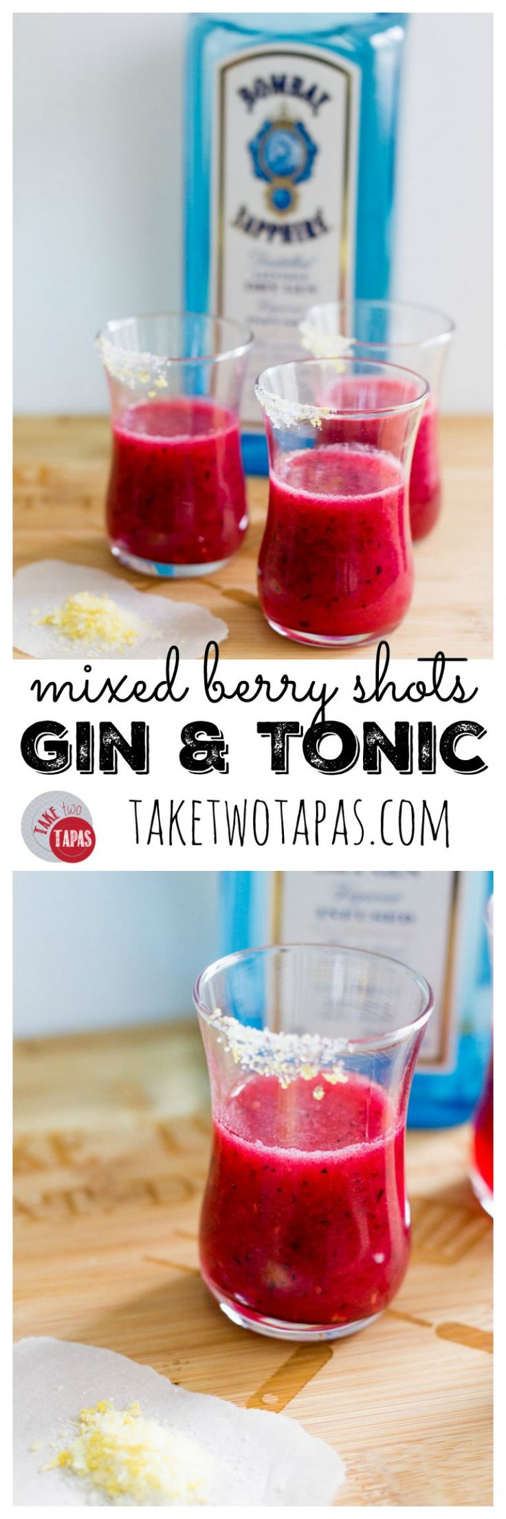 The tart and herb flavors of a classic gin and tonic are