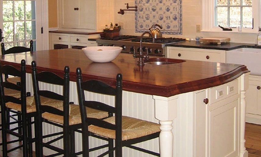 exceptional Kitchen Island Counter Tops #1: 17 Best Images About Wood Countertops On Pinterest Kitchen