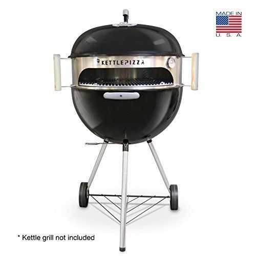 Usa Warehouse Made In Usa Kettlepizza Basic Pizza Oven Kit For 185 And 225 Inch Kettle Grill Pt Hf9831754 Outdoor Pizza Oven Kits Pizza Oven Kits Kettle Grills
