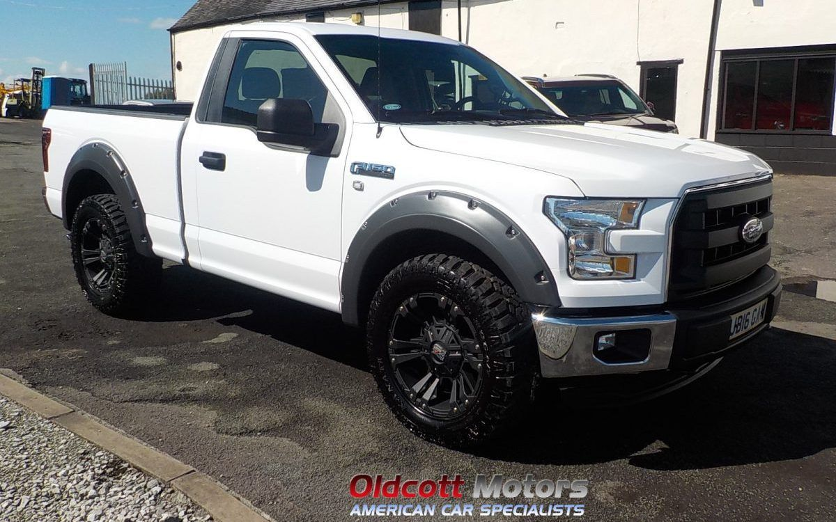 2016 Ford F150 Regular Cab 3 5 Litre V6 2wd Xlt Pickup 1200 Miles