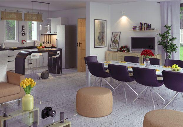 Il y a trois chambres pour ce mod le de maison individuelle nomm quartz l - Modele interieur maison ...
