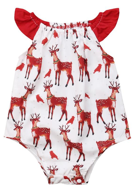 01b8c7e3839b SALE 60% OFF + FREE SHIPPING! SHOP Our Christmas Deer Romper for ...