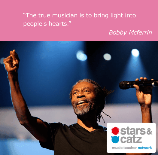 Bobby Mcferrin Music Quote Music Quotes Music Image Quotes