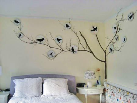 Wall Art Ideas For Bedroom | Snsm155.Com