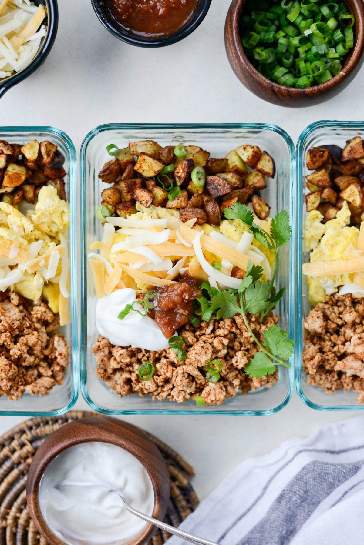 Turkey Taco Breakfast Scramble Recipe Breakfast Healthy Meal
