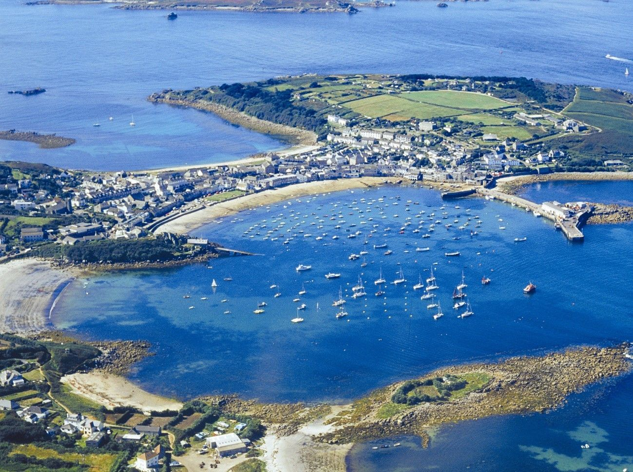 The Atlantic Hotel On Isles Of Scilly Is Set In Most Stunning Location With Unrivalled Harbour Views Unwind One Our 25 Boutique Style