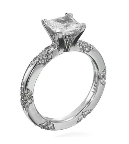 Michael B.- Lace Collection Platinum Diamond Setting
