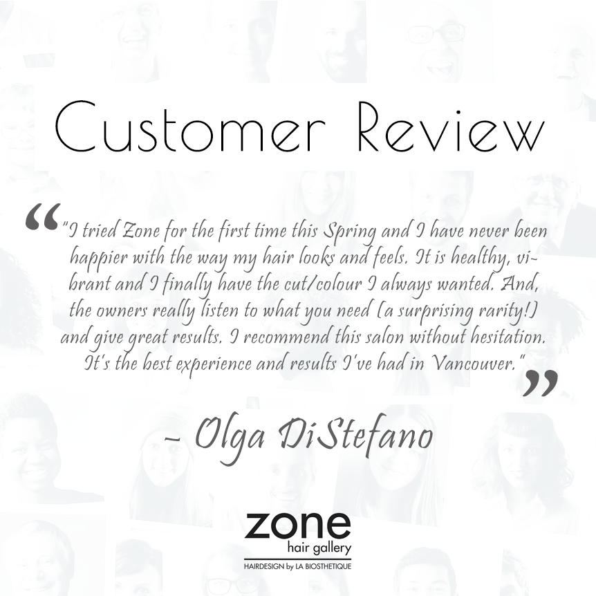 The customer is the final filter. We are always happy to hear what our customers have to say and thought that we would share some customer comments with you.#salon #hairsalon #modernsalon