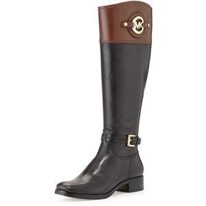 Designer Clothes, Shoes & Bags for Women | SSENSE. Leather Riding BootsCat  CatMichael Kors ...