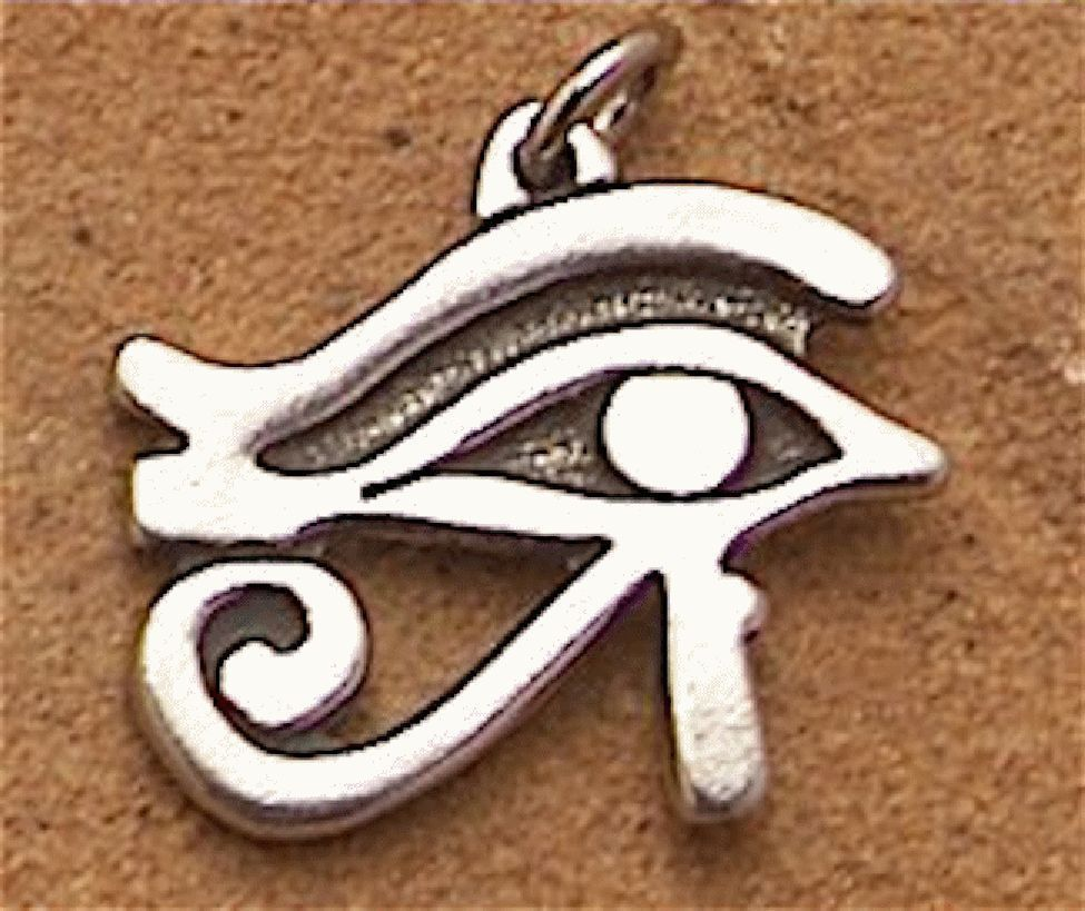 Eye Of Ra Egyptian Thoth Horus Pendant Necklace Amulet The Eye Of