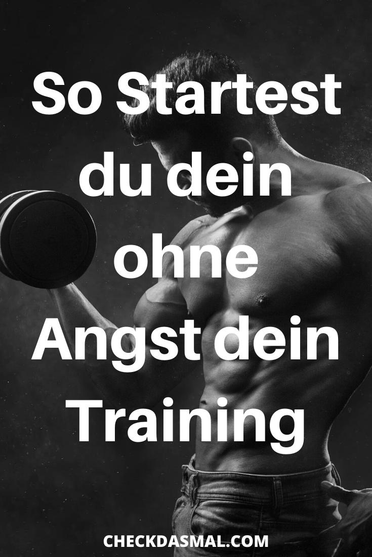 So Startest du dein ohne Angst dein Training #Sport #Fitness #Training