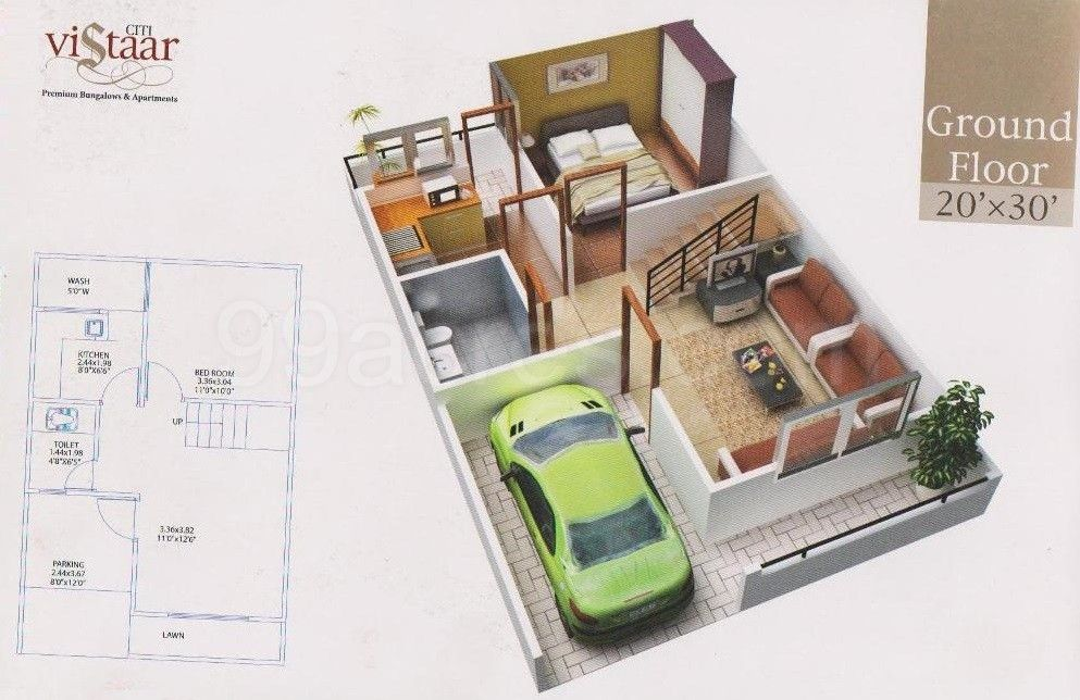 Charming 600 Sq Ft House Plans With Car Parking Photos   Best. Charming 600 Sq Ft House Plans With Car Parking Photos   Best