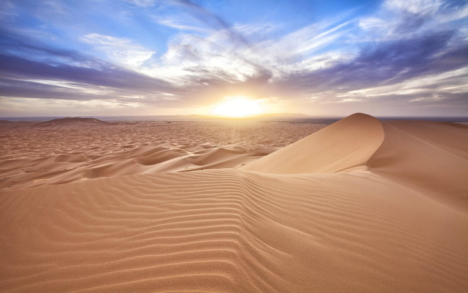 Beautiful Desert Landscape | Download HD Wallpapers Photos