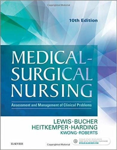 Medical surgical nursing assessment and management of clinical medical surgical nursing assessment and management of clinical problems 10th single volume fandeluxe Images
