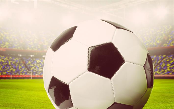 Balones De Fútbol Deportes Fondos De Pantalla Gratis: Descargar Fondos De Pantalla Balón De Fútbol, Estadio De