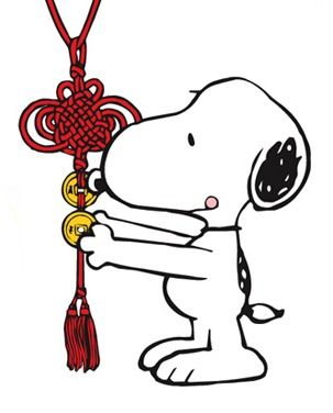 snoopy chinese new year