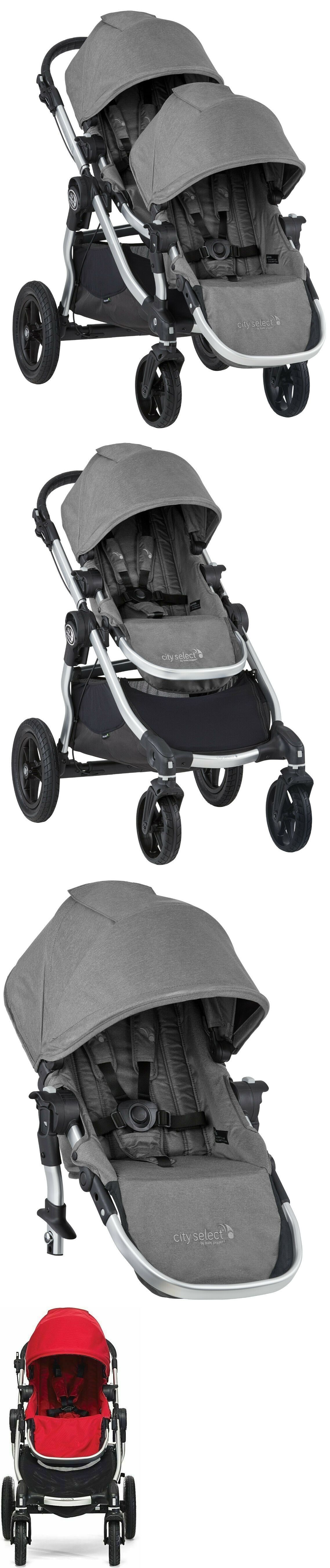 Other Strollers 2989 Baby Jogger City Select Twin Tandem