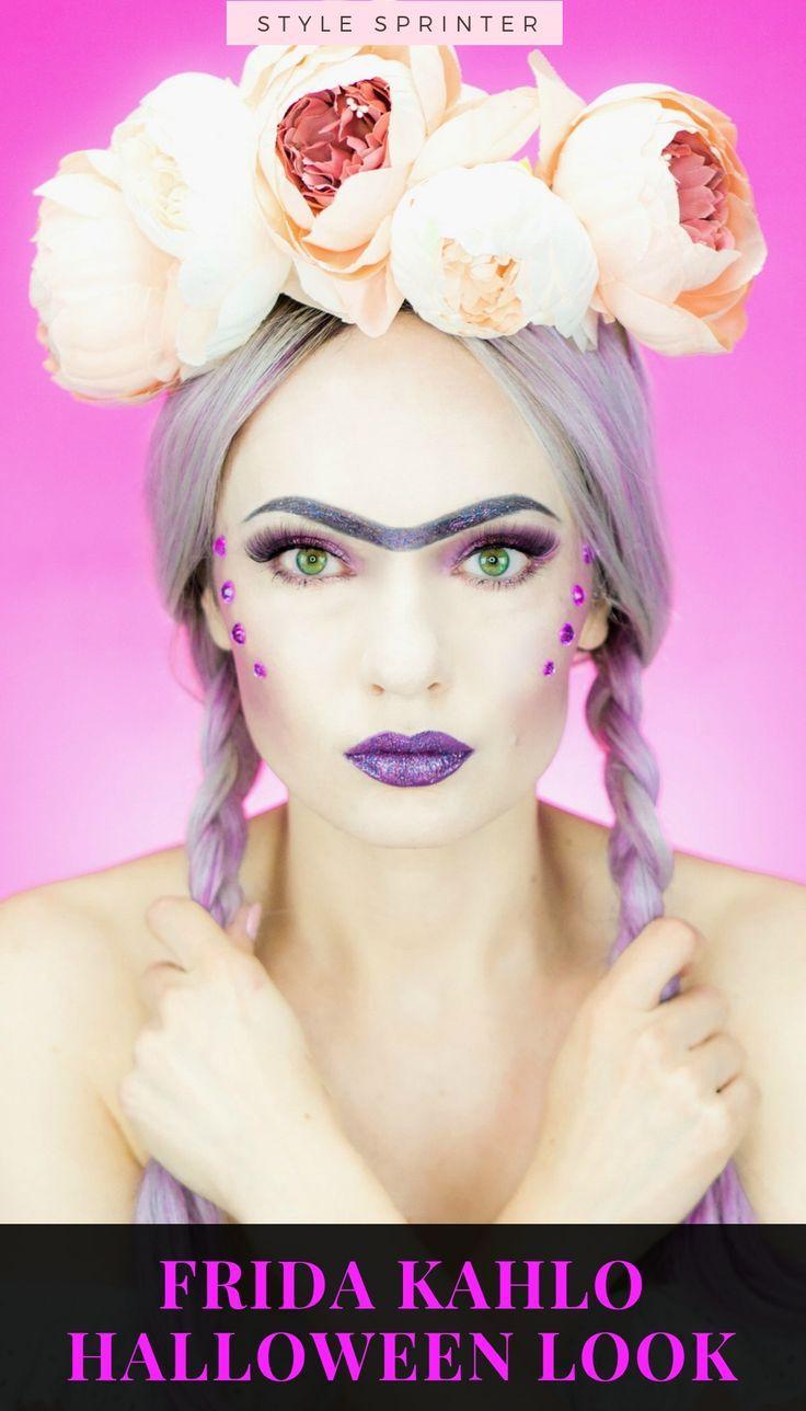 Frida Kahlo Halloween Makeup Tutorial  The InfluenceHer Collective