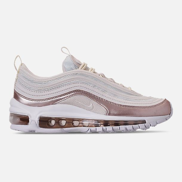 3b6efd096b Girls' Big Kids' Nike Air Max 97 Casual Shoes in Phantom/Phantom/Metallic  Red Bronze/White