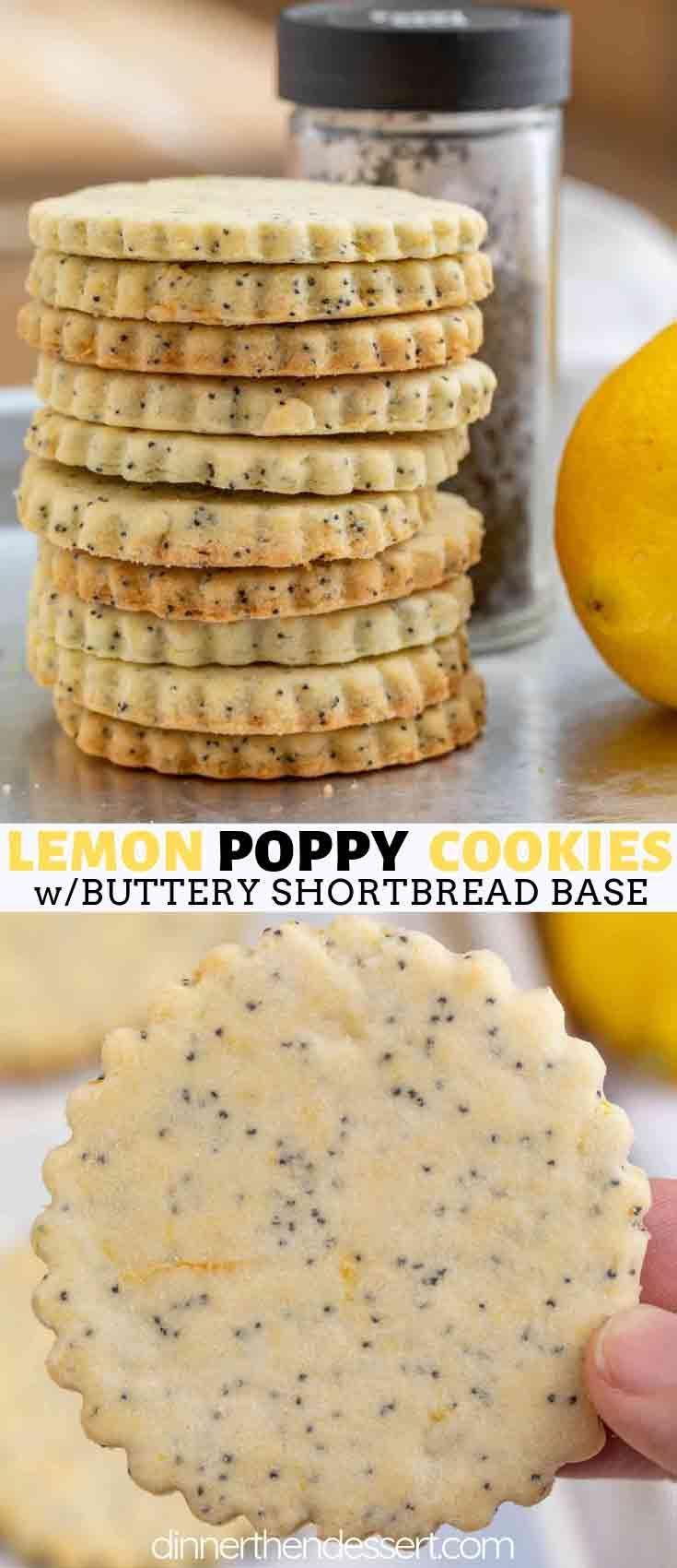 Lemon Poppy Seed Cookies - Dinner, then Dessert