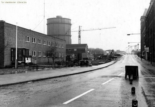 oldham road police station on left and warwick mill on. Black Bedroom Furniture Sets. Home Design Ideas