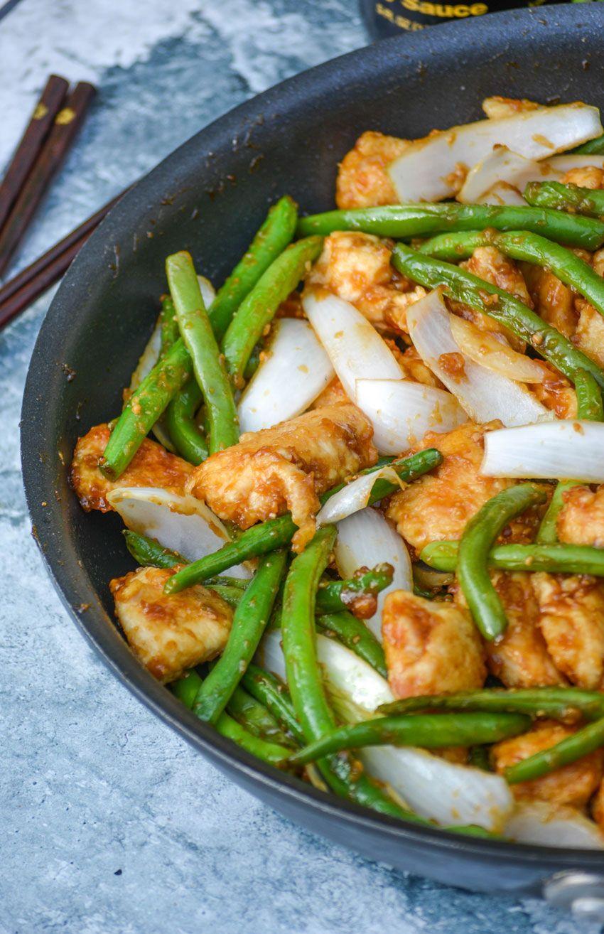 Copy cat panda express chicken green beans recipe