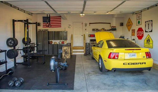 Inspirational Garage Gyms & Ideas Gallery Pg 10 - Garage Gyms