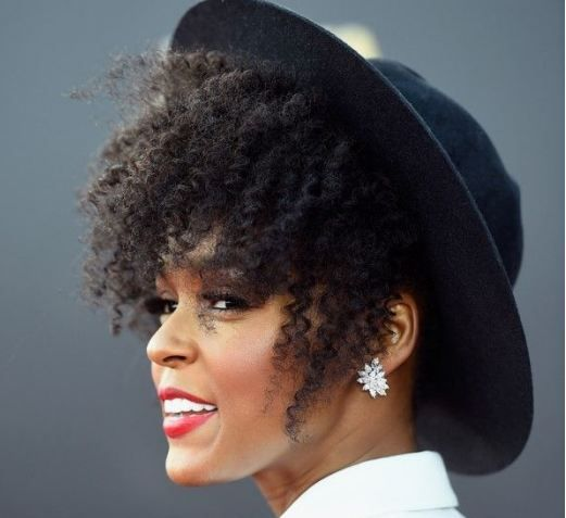 How To Wear A Hat With An Afro Natural Hair Styles Natural Hair Accessories Hair Beauty