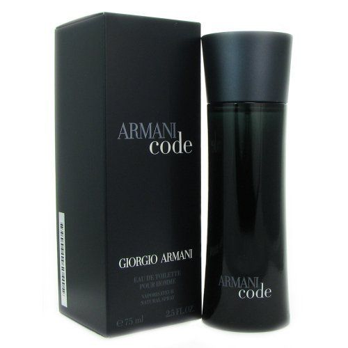 Giorgio Armani Armani Code for Men Eau De Toilette Spray, 2.5 Ounce by Giorgio Armani. $69.30. Style:Fresh. Sexy. Masculine.. Notes:Lemon, Bergamot, Aromatic Mediterranean Notes, Guaiac Wood, Tonka Bean.. A seductive fragrance for men,. Armani Code is a sexy blend of fresh lemon and bergamot softened with hints of orange tree blossom, warmed with soothing guaiac wood, and tonka bean.