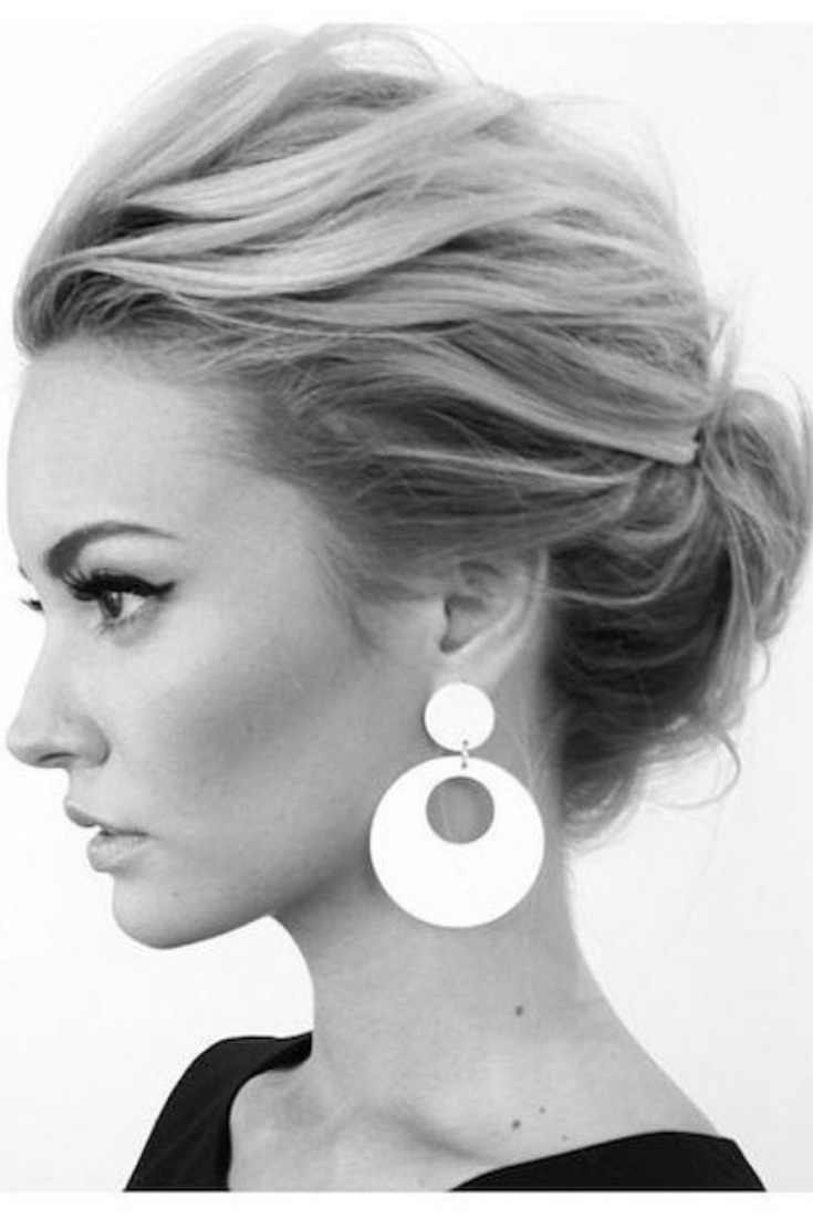 30 Trendy Haircuts For Women Over 30 Hairstyles For Women In 2020 Short Hair Updo Short Hair Updo Easy Up Dos For Medium Hair