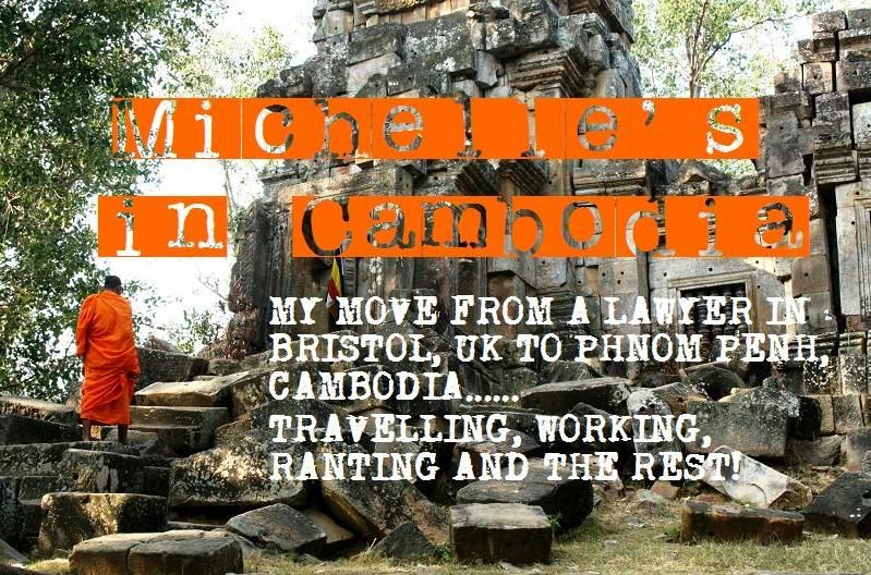 Living in Cambodia...