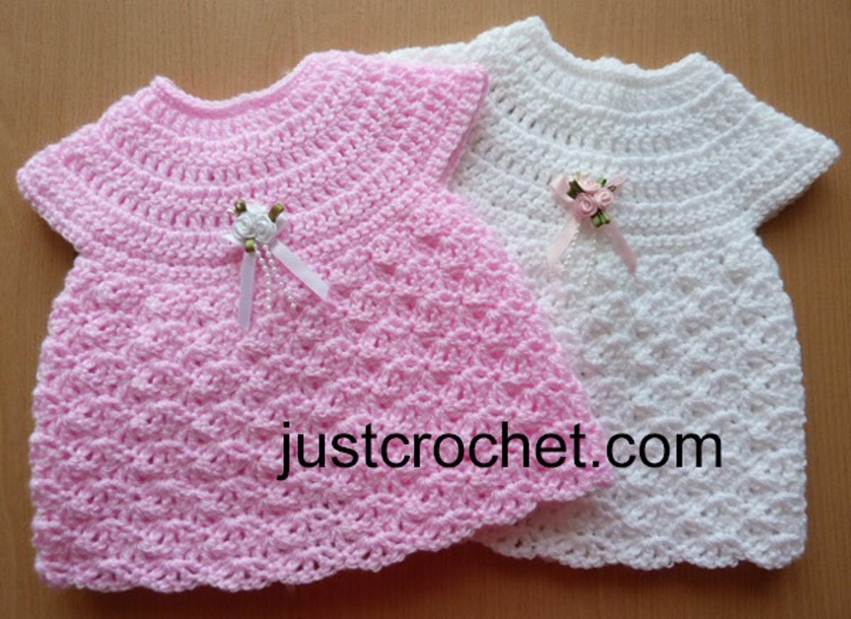 Dorable Patrones Del Vestido De Boda De Crochet Libre Colección ...