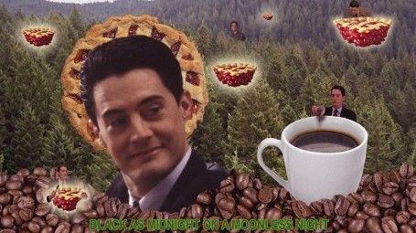 Photo of Twin Peaks coffee wallpaper