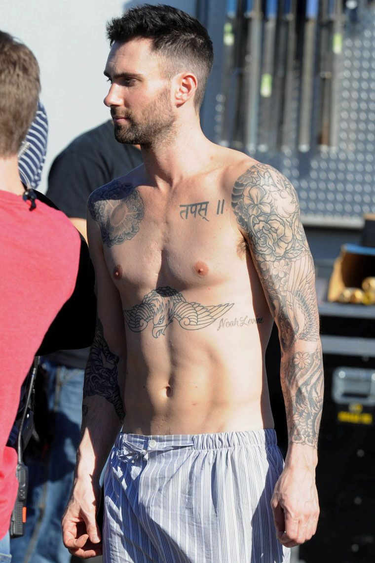 Sexy pictures of adam levine