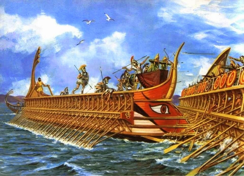 El trirreme griego Olympias