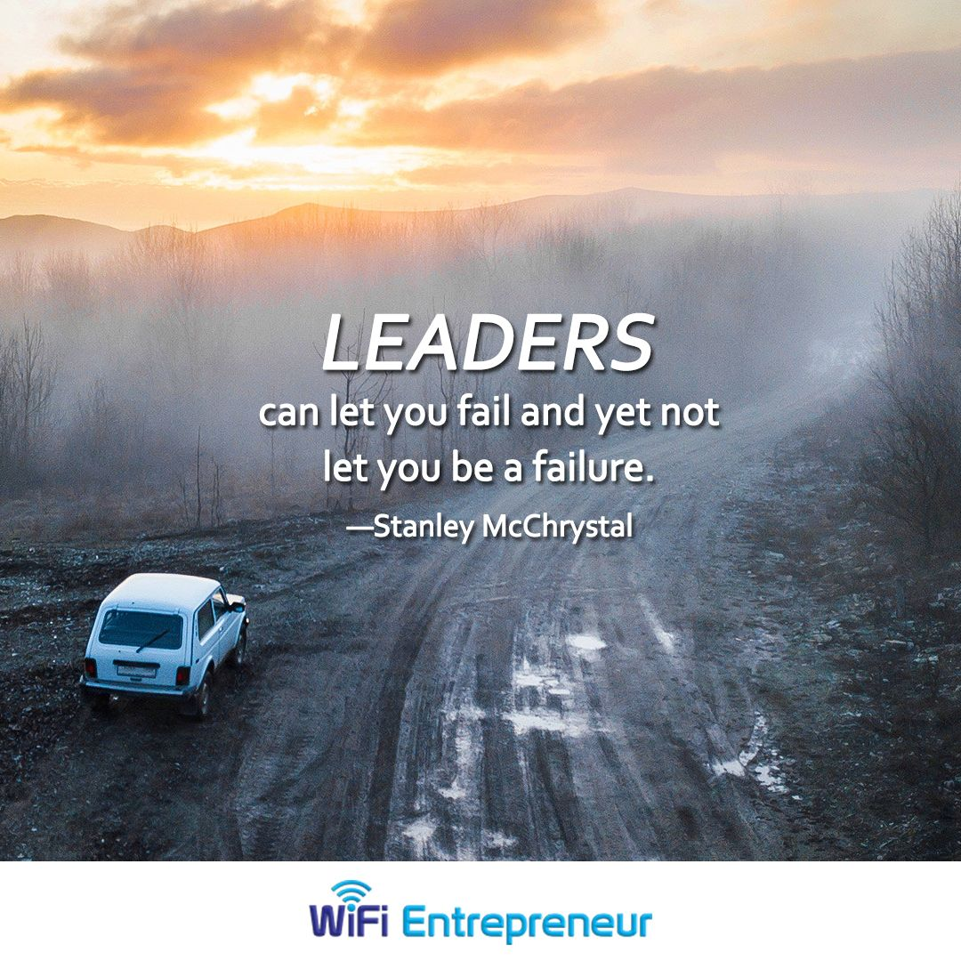 Leaders Can Let You Fail And Yet Not Let You Be A Failure
