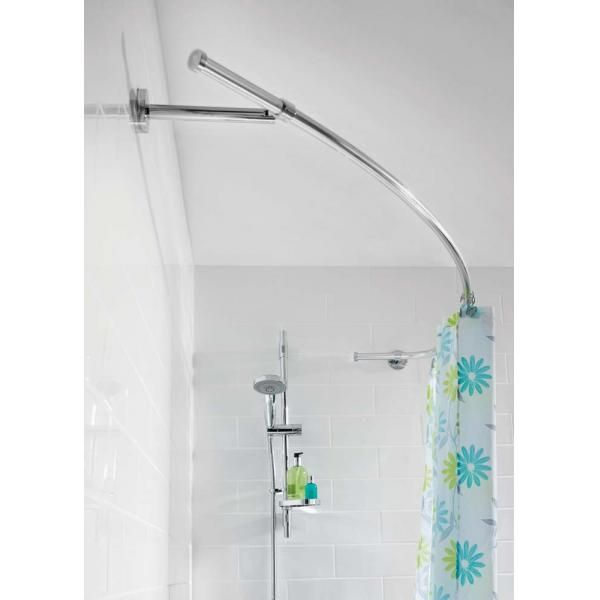 Luxury Curved Rod Shower Curtain Rods Shower Pole Shower