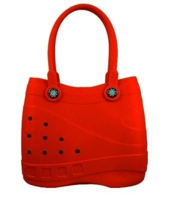 Large Red Sol Tote - The Coolest Bag Under The Sun