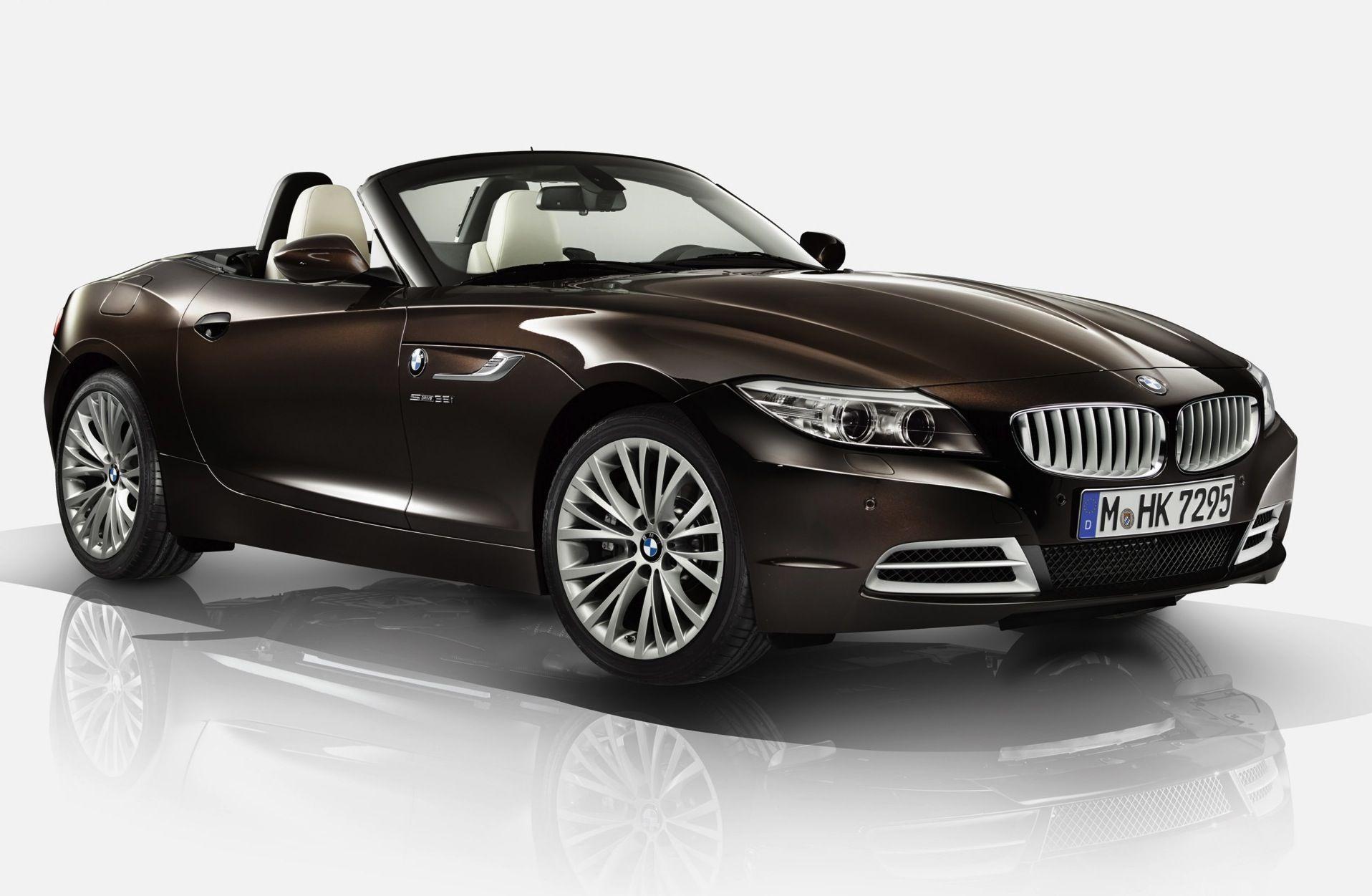 Bmw presenteert de z4 design pure fusion met exclusief for Lederen interieur auto