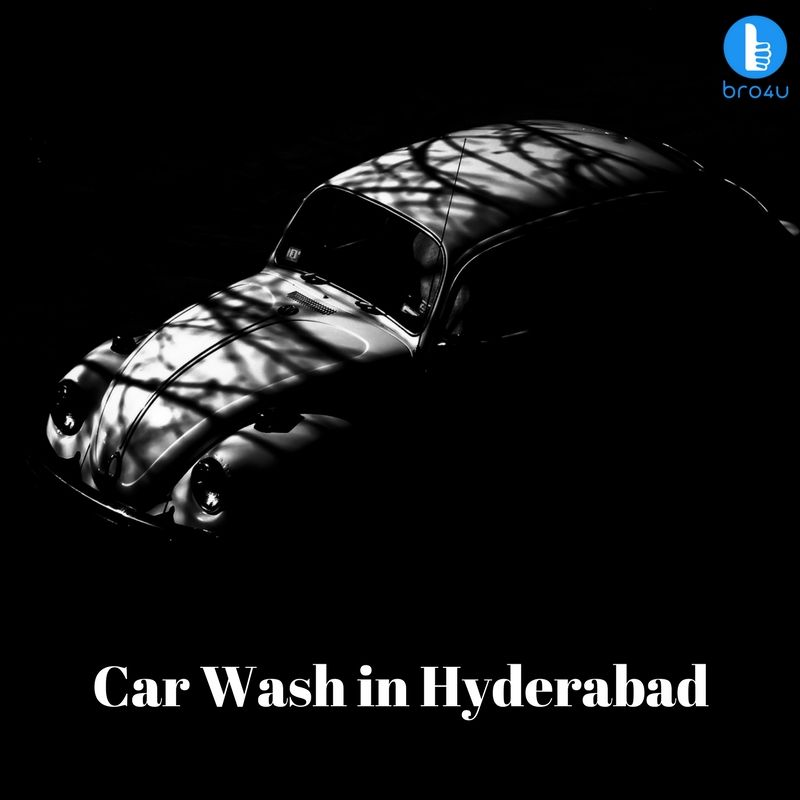 Mobile Car wash at Bro4u is the most helpful approach to for your Car cleaning and Car spa in Hyderabad at the solace of your home #bro4u #car #wash #service #hyderabad #home_services