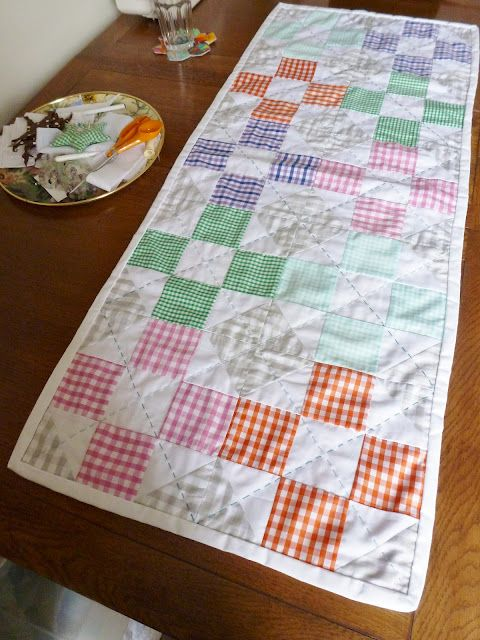 This is so simple and I am loving it!  Seen on the SelfSewn blog
