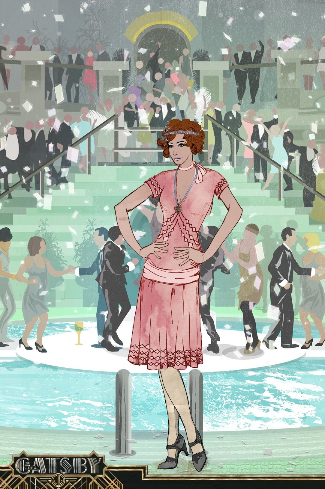 Join me in reliving the roaring 20s with the Gatsby Avatar Creator. Go to  http://apps.warnerbros.com/greatgatsby/avatarcreator/us