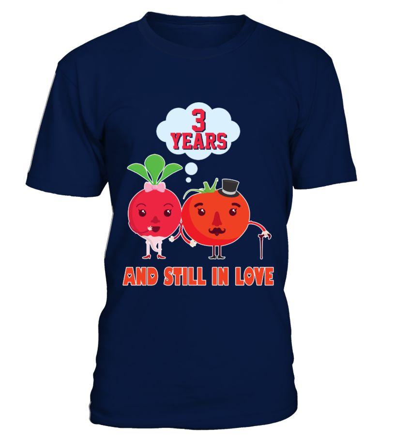 Funny 3 Years Wedding Anniversary Tshirt For Herhim Gifts