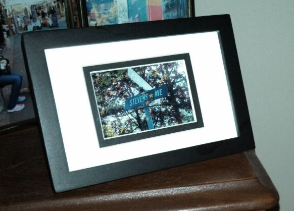 moving away gift take a picture and frame the street sign original - Moving Picture Frame