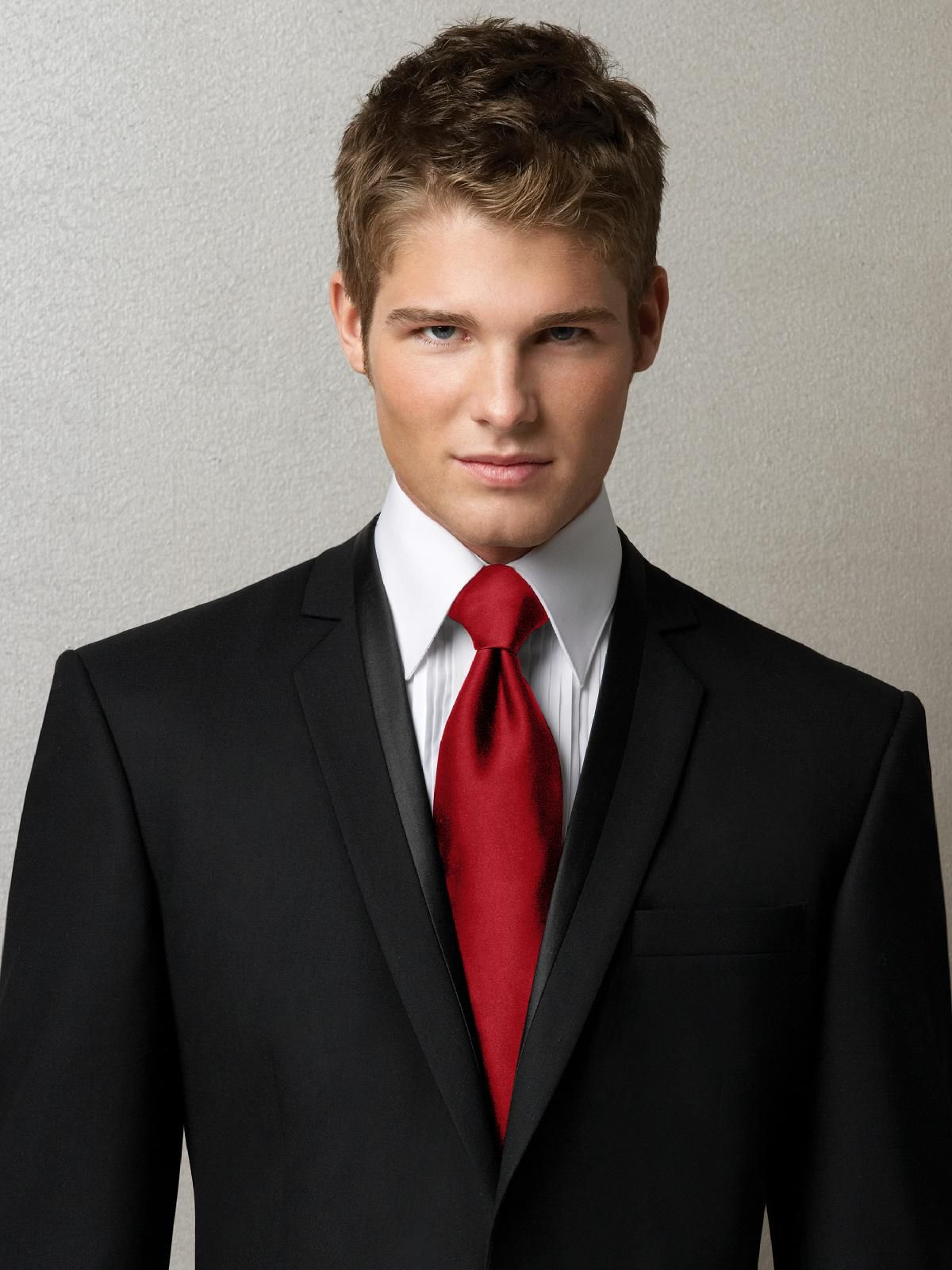 I want the guys to wear that color tie.